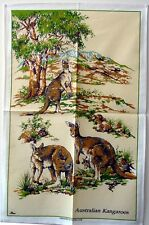 Tea Towel - Australian Kangaroos - 100% Cotton