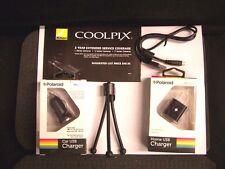 USB AC Adapter + Warranty for Nikon S9100 S9200 S9300 P300 P310 P500 P510 S32