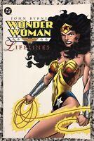 "DC Comics, Wonder Woman ""Lifelines"" 1998 TPB Graphic Novel John Byrne, Near MINT"