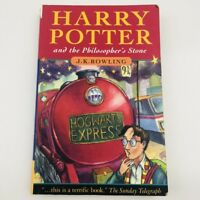 Harry Potter and the Philosopher's Stone by J. K. Rowling First Edition 1997