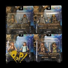 PIRATES of the CARIBBEAN Dead MEN Tell No TALES Minimates FULL SET 4x2-Packs!
