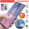 for Samsung Galaxy Note10 S10Plus UV Glue Tempered Glass Liquid Screen Protector