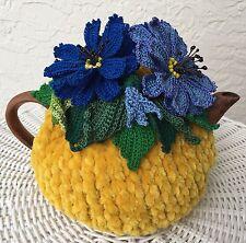 NEW  Handmade Tea Cozy Cornflowers From Ukrainian Designer