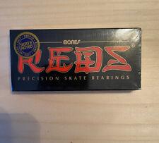 Genuine BONES Reds Precision Skateboard Bearings New In Shrink