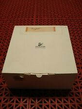 Swarovski Empty Hinged Storage Box White w/Sleeve for Tiger 8 x 7-3/8 x 3-3/8
