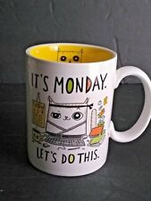 Cats @ Work It's Monday Let's Do This Laugh At Your Job Coffee Mug Cup Novelty