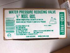 """Zurn Wilkins Water Pressure Reducing Valve 1/2"""" Model 600 XL"""