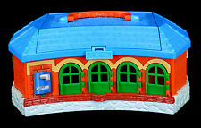 410 Thomas &Friends Take Along work play TIDMOUTH roundhouse station trucks SET