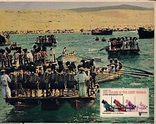 """The Charge Of The Light Brigade Original 11x14"""" Lobby Card #M3508"""