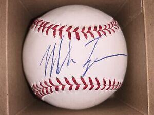 Mike Tyson Signed Baseball Steiner COA