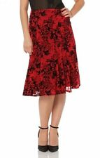 Party Floral Regular Size Skirts for Women
