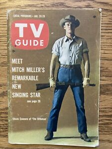 So Ohio 1962 TV Guide Magazine Chuck Connors The Rifleman Bullwinkle Moose