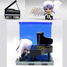 Cute Anime Angel Beats Kanade Tachibana Piano Nendoroid Figure 10cm New No Box
