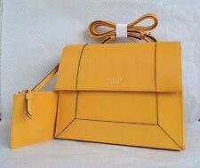 Radley 'Hardwick' Yellow Leather Across Body Bag & Coin Purse RRP £189 BNWT New!