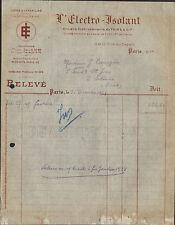 """PARIS (XIV°) USINE de VERSAILLES (78) MATERIEL ELECTRO-ISOLANT """"AVTSINE"""" 1927"""