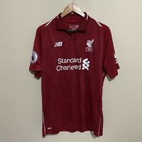 Liverpool New Balance #9 Firmino 2018/2019 Soccer Football Jersey Mens Large