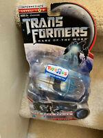 TRANSFORMERS DARK OF THE MOON SCAN SERIES IRONHIDE TRU EXCLUSIVE NEW SEALED!