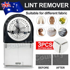 Clothes Lint Remover Battery Operated Pilling Fluff Fuzz Fabric Shaver AU