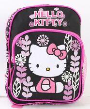 The New Hello Kitty Flower Girls  10'' Mini Backpack Kids Mini School Book Bag