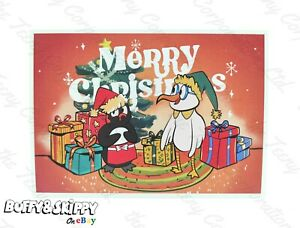 Merry Christmas Card Personalised Free Handwritten Or Typed Special Greetings