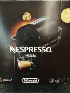 De'Longhi Nespresso Inissia EN 80.B, Hochdruckpumpe, Energiesparfunktion, kompak