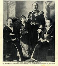 Japan Admiral Kamimura mit seiner Familie Oberbefehlshaber der...Memorabile 1904