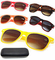 Women Sun Readers  +1.0 +1.5 +2.5 +4.0 READING SUNGLASSES GLASSES HOLIDAY