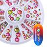 3D Nail Art Rhinestones Glitters Acrylic UV Gel Tips Decoration Manicure Wheel