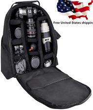 Digital Camera Backpack. Canon Rebel Nikon Sony Pentax Camcorder Case Bag