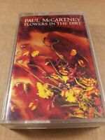 Paul McCartney : Flowers In The Dirt : Vintage Tape Cassette Album from 1989