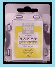 Scott or Prinz Mounts Clear 41/31, (pkg 40)(00905C)