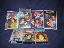 Lot 7 SHIRLEY TEMPLE VHS Video Tapes Full length movies-Dimples-Blue Bird-More..