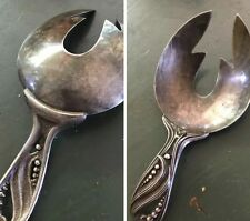 Vintage NAPIER BAR WARE or ICE CREAM SCOOP Caddy ICE CUBE SERVER Silverplate
