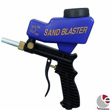 LEMATEC AS118 Portable Sandblaster Air Sandblasting Gun with free tip US SHIP