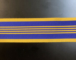 Defence Long Service Medal Ribbon Only 1m X 3.2cm