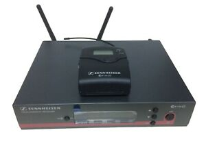 Radiomic Sennheiser EW100 G3 con bodypack, 1 ANNO DI GARANZIA, range 518-558 MHz