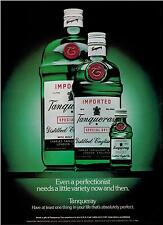 1987  TANQUERAY STERLING VODKA  : PERFECTION Magazine PRINT AD