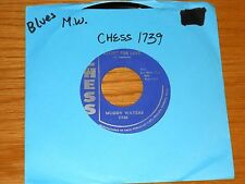 """BLUES 45 RPM - MUDDY WATERS - CHESS 1739 - """"RECIPE FOR LOVE"""" + """"TELL ME BABY"""""""
