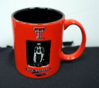 Lot of 2 Pieces NCAA Officially Licensed Texas Tech 12 Oz. Spinner Mug