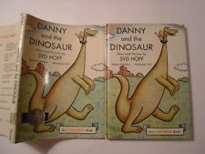 Danny and the Dinosaur, Syd Hoff, Harper & Brothers, DJ, Early Printing