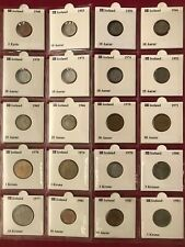 ICELAND Coin Lot (1940-Present) 35 Amazing Coins all Beautifully 2X2 carded!!!