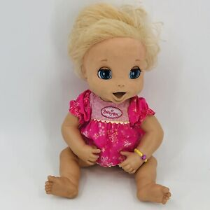 2006 Baby Alive Doll Soft Face Tested/Works - Replacement Parts - Orig Dress