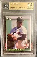 Bgs 9.5 Gem Mint 1985 Donruss #273 Roger Clemens Rookie Card - Compare To PSA 10
