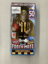 FOOTY MATE SAM MITCHELL MICRO-FIGURES OFFICIAL AFL LIMITED EDITION HAWKS -