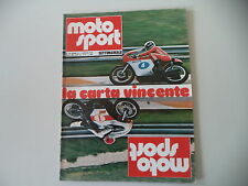 MOTOSPORT 10/1974 ASPES NAVAHO/BETA 50 CROSS/FANTIC CABALLERO/ROMEO SCORPION P6