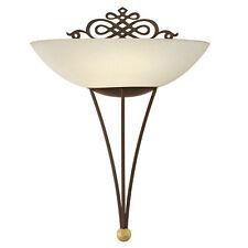 EGLO Wandleuchte Wandlampe 86715 Mestre Antik-braun Gold E27 60w