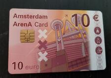 Amsterdam Arena Card 2002 10 Euro stadion dak
