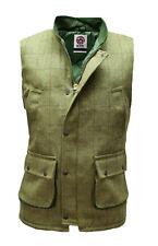 WWK Derby Tweed Bodywarmer Gilet Hunting Shooting Farming Sizes Small to 5XL NEW