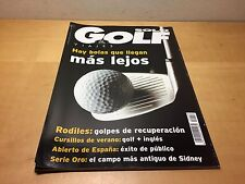 Magazine SOLO GOLF & Voyage n° 58 Juin 2000 Hay boules que arrivent más lejos