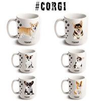 CORGI Cardigan Pembroke Dog Breeds Hashtag Mugs Animal Funny Pet Gift Coffee Tea